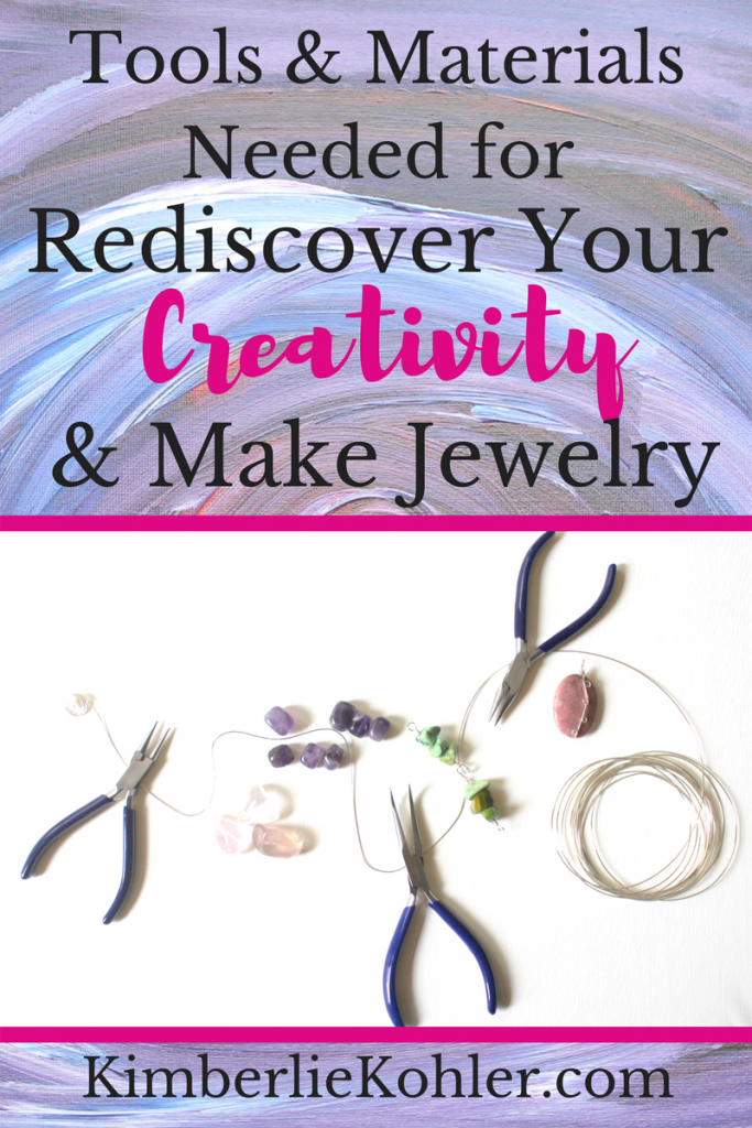Tools and Materials Needed for Rediscover Your Creativity