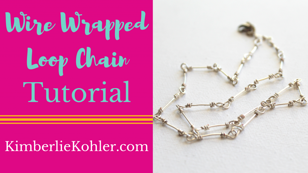 Wire Wrapped Loop Chain