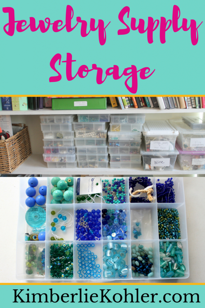 Jewelry Supply Storage