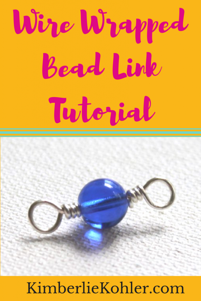 Wire Wrapped Bead Link Tutorial