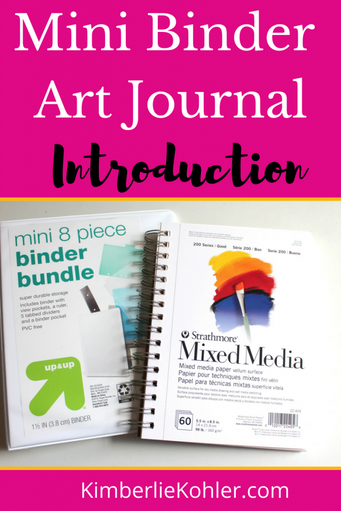 Mini Binder Art Journal Introduction