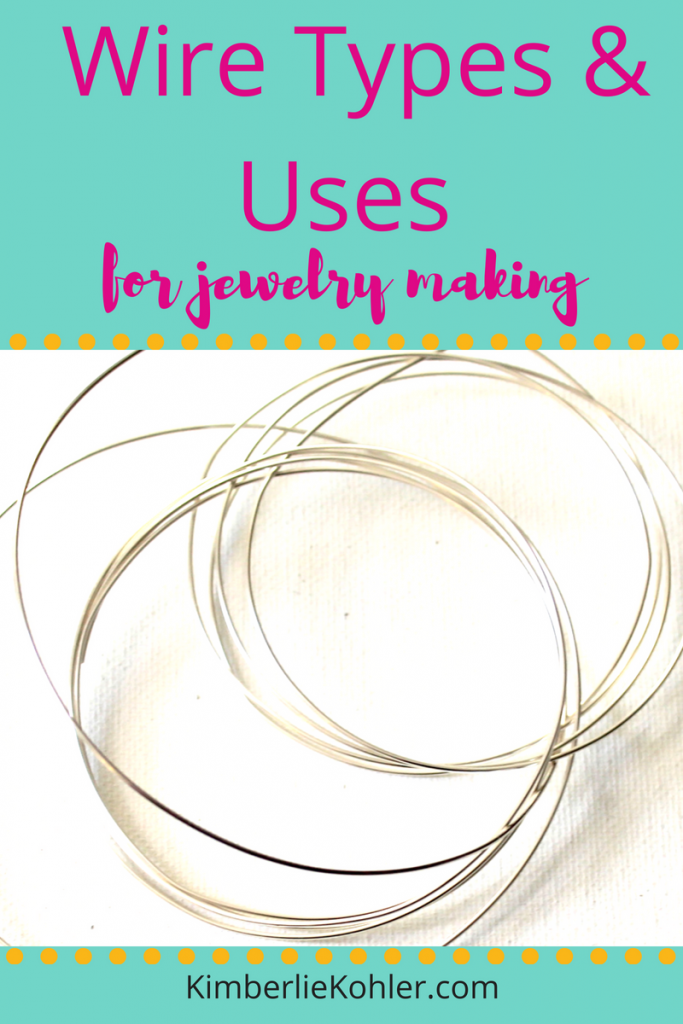 Wire Types and Uses for Jewelry Making [Video & PDF] | Emerging ...