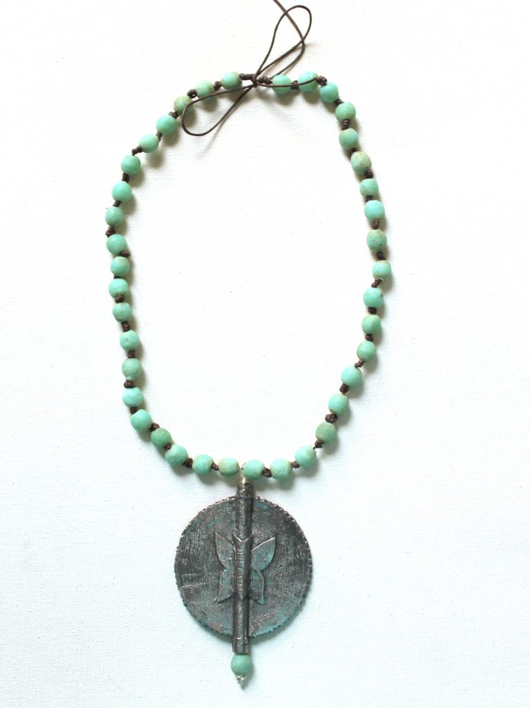 Baule Bead Pendant Necklace