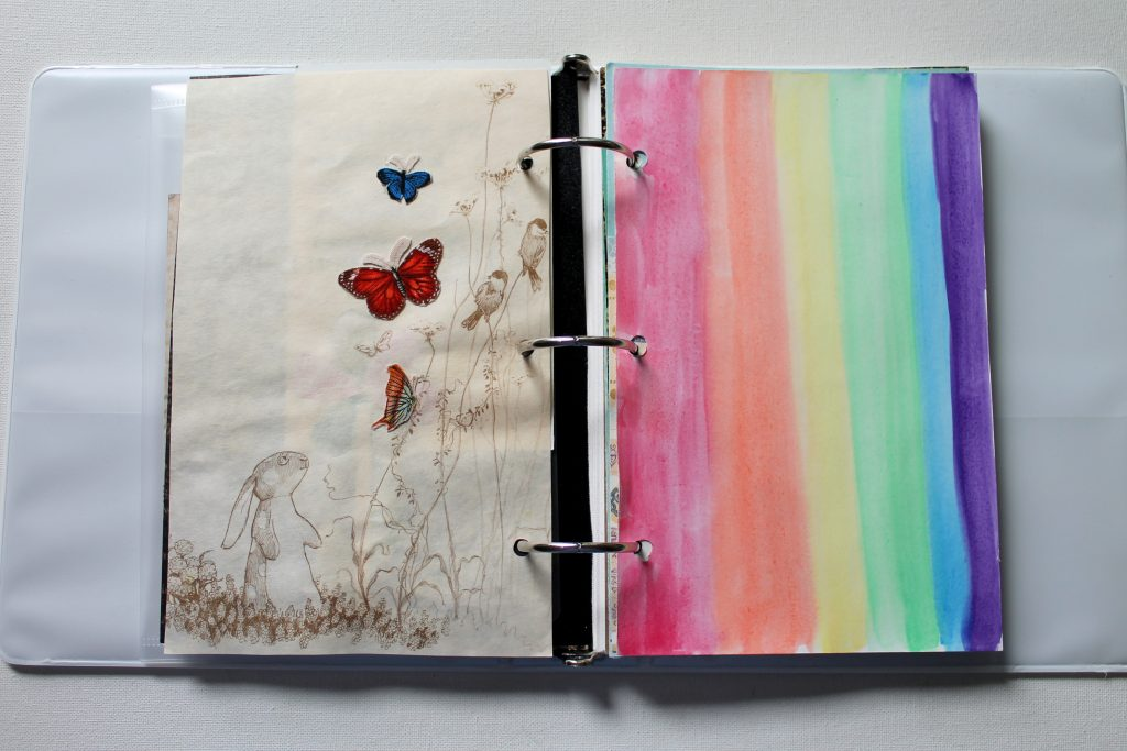 Mini Binder Art Journal