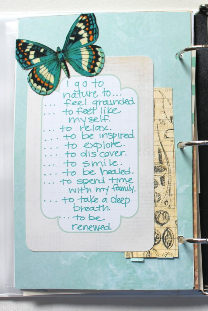 Nature Art Journal Prompt