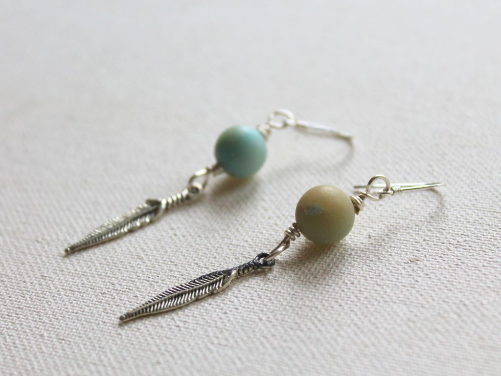 Dangle Charm Earrings Tutorial